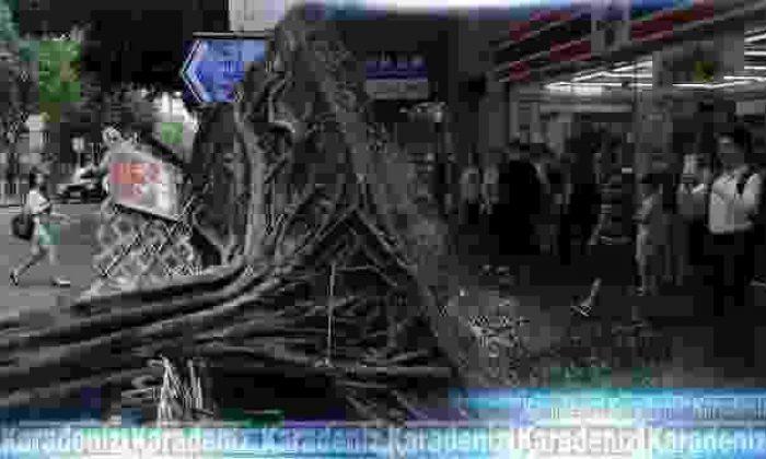 Ülkeyi Nida tayfunu vurdu