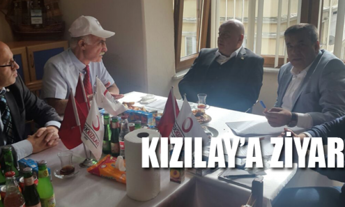 Türk Kızılay Genel Merkez Yönetimden Sinop Kızılaya Ziyaret