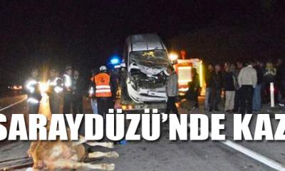 Saraydüzü'nde Kaza!