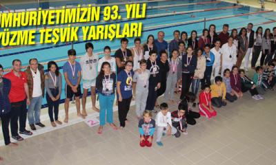 Cumhuriyetimizin 93. Yılı Yüzme Teşvik Yarışları