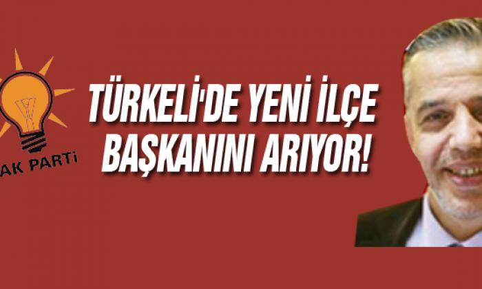 Ak Parti Türkeli'de Yeni İlçe Başkanını Arıyor!