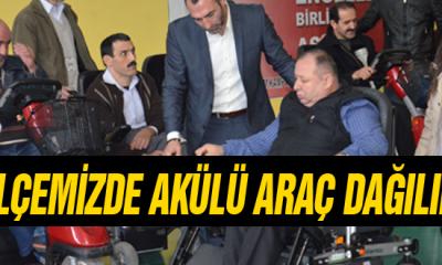 Ayancık'ta 23 Engelli Vatandaşa Akülü Araç Dağıtıldı