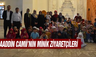 Alaaddin Camii'nin Minik Ziyaretçileri