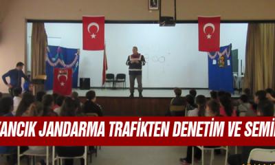 Ayancık Jandarma Trafikten Denetim ve Seminer