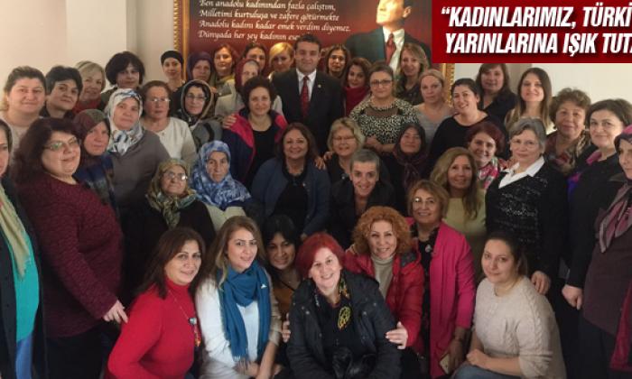 """Chp'li Karadeniz: """"Kadınlarımız, Türkiye'nin Yarınlarına Işık Tutacak"""""""