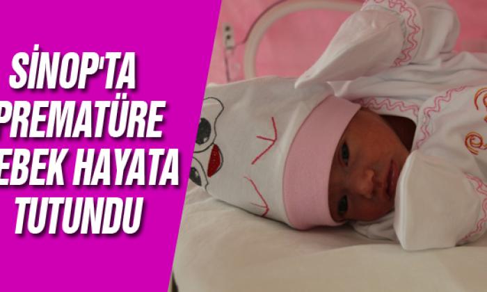 Sinop'ta Prematüre Bebek Hayata Tutundu