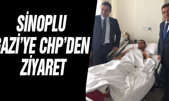 Sinoplu Gazi'ye CHP'den Ziyaret