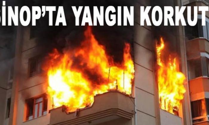 Sinop'ta Yangın!