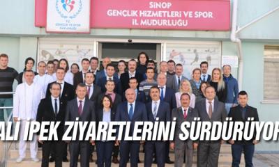 Vali İpek Ziyaretlerini sürdürüyor