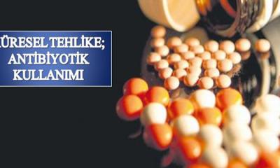 Küresel Tehlike; Antibiyotik Kullanımı
