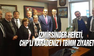 İzmirsinder Heyeti, Chp'li Karadeniz'i Tbmm Ziyaret Etti