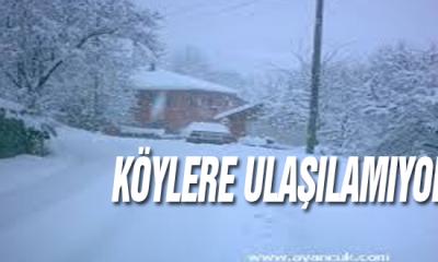 Sinop Köyleri Ulaşıma kapalı