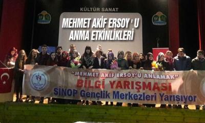 Mehmet Akif Ersoy ' u Anma Etkinlikleri