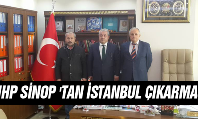 Mhp Sinop'tan İstanbul Çıkarması