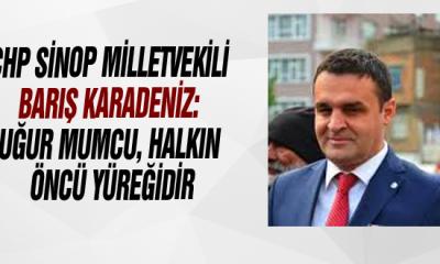 Chp Sinop Milletvekili Barış Karadeniz: Uğur Mumcu, Halkın Öncü Yüreğidir