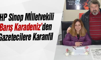 Karadeniz'den Gazetecilere Karanfil