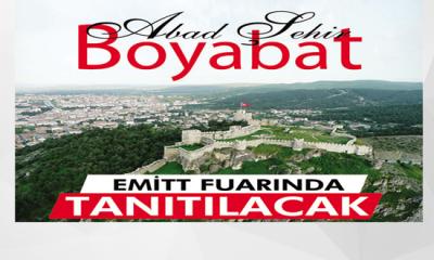 Boyabat Belediyesi, EMITT fuarı'na katılıyor