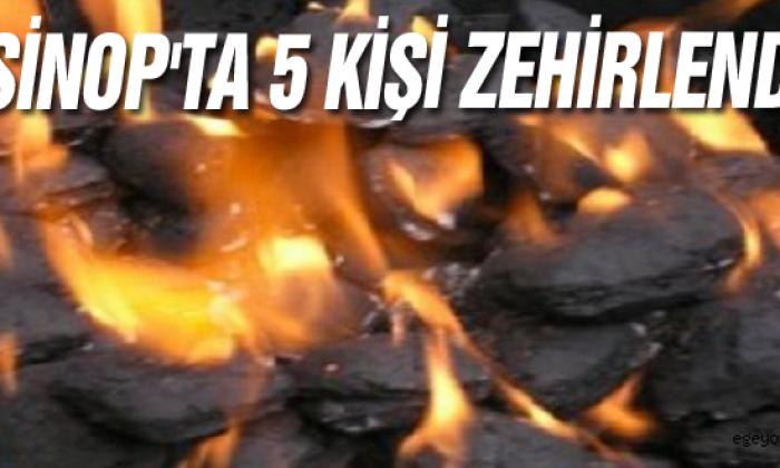 Sinop'ta 5 Kişi Zehirlendi
