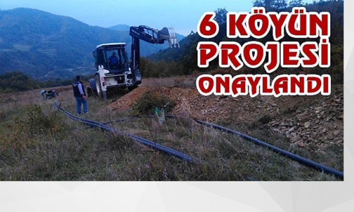Türkeli'deköyün içme suyu projesi onaylandı