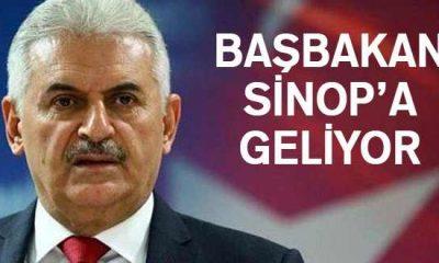 Başbakan Binali Yıldırım Sinop'a Gelecek
