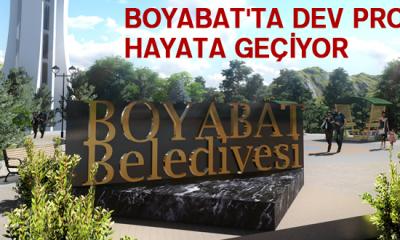 Boyabat'ta dev proje hayata geçiyor