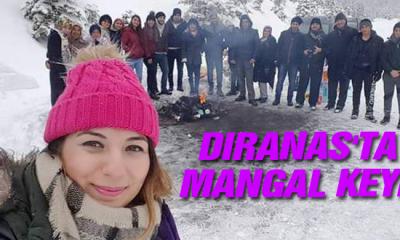 Sinop Dıranas'ta mangal Keyfi