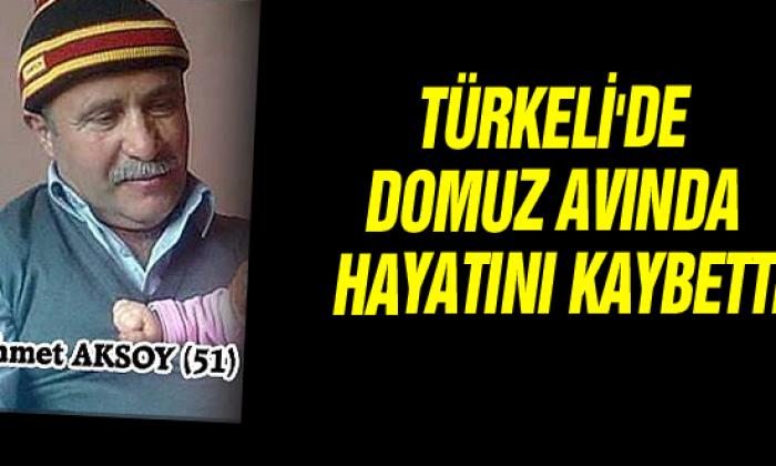 Türkeli'de Domuz avında 1 kişi hayatını kaybetti