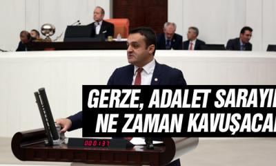 Chp'li Karadeniz: Gerze, Adalet Sarayına Ne Zaman Kavuşacak?