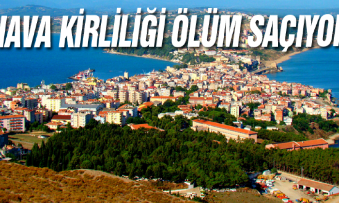 Sinop'ta Hava Kirliliği