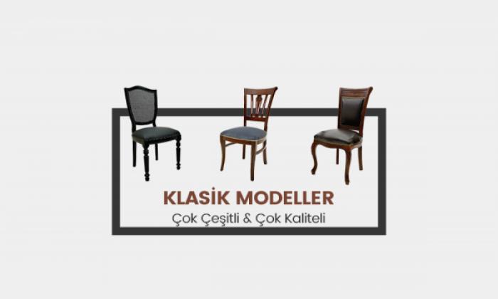Klasik Ve Kolçaklı Ahşap Sandalye