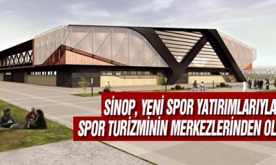 Sinop, Yeni Spor Yatırımlarıyla Spor Turizminin Merkezlerinden Olacak