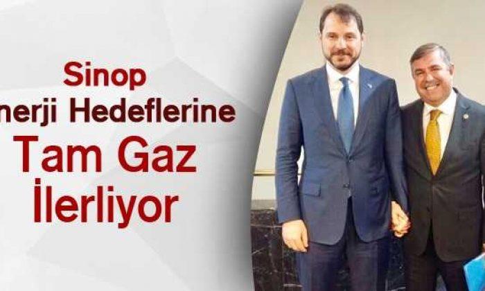 Sinop Enerji Hedeflerine Tam Gaz İlerliyor