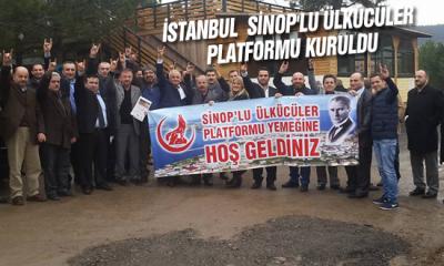 İstanbul  Sinop'lu Ülkücüler Platformu Kuruldu