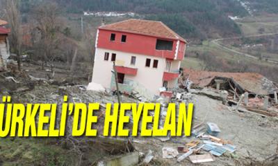 Türkeli'de Heyelan!