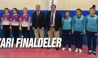 Anadolu Yıldızlar Liginde Masa Tenisi İl Karması Kız Takımı Yarı Finalde
