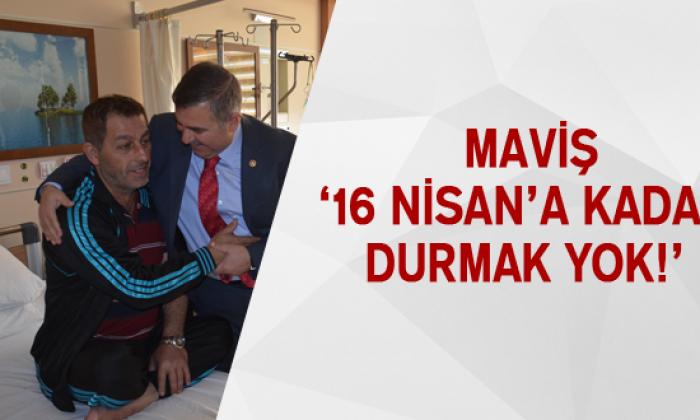 Maviş '16 Nisan'a Kadar Durmak Yok!'