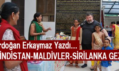 Hindistan-Maldivler-Sri Lanka Gezisi