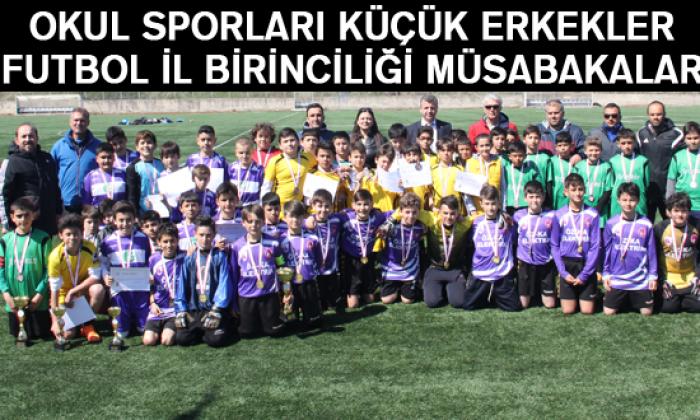 Okul Sporları Küçük Erkekler Futbol İl Birinciliği Müsabakaları