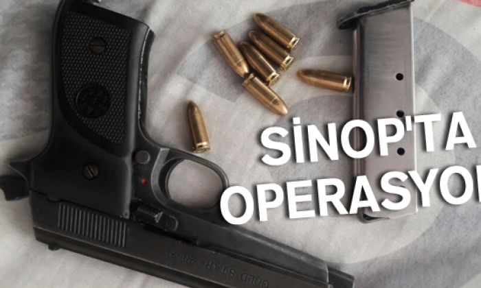 Sinop'ta Operasyon!