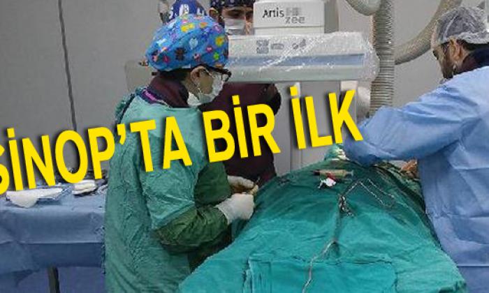 Sinop'ta İlk Kez Kalp Pili Takıldı