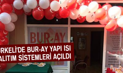 Türkeli'de Bur-Ay Yapı Isı Yalıtım Sistemleri Açıldı