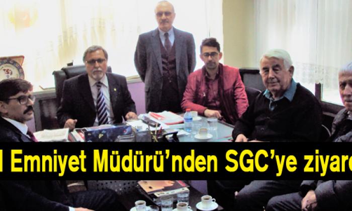 İl Emniyet Müdürü'nden SGC'ye ziyaret