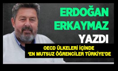 OECD Ülkeleri içinde 'En mutsuz Öğrenciler Türkiye'de