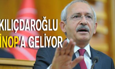 Kılıçdaroğlu Sinop'a Geliyor