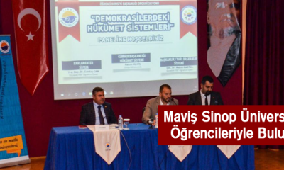 Maviş Sinop Üniversitesi Öğrencileriyle Buluştu