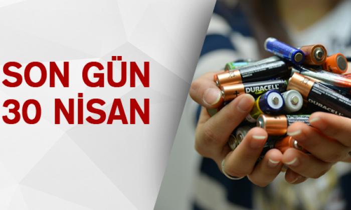 Sinop'ta okullarda Atık Pil Toplama Yarışması sona eriyor…