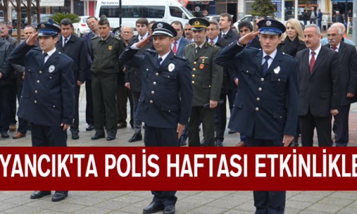 Ayancık'ta Polis Haftası Etkinlikleri