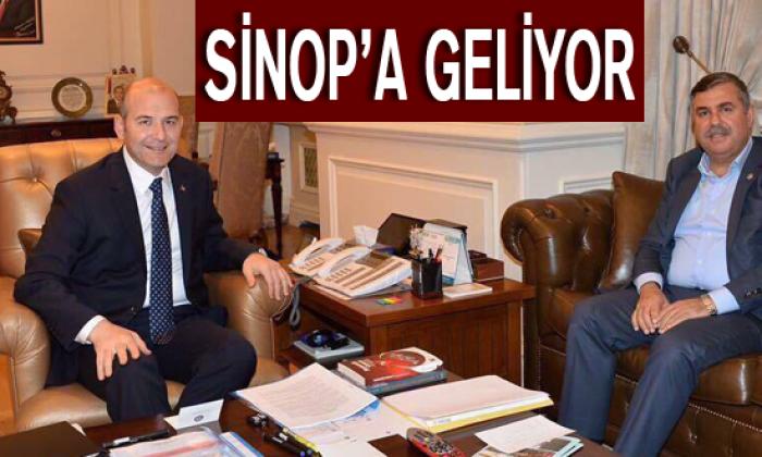 İçişleri Bakanımız Süleyman Soylu Sinop'a Geliyor