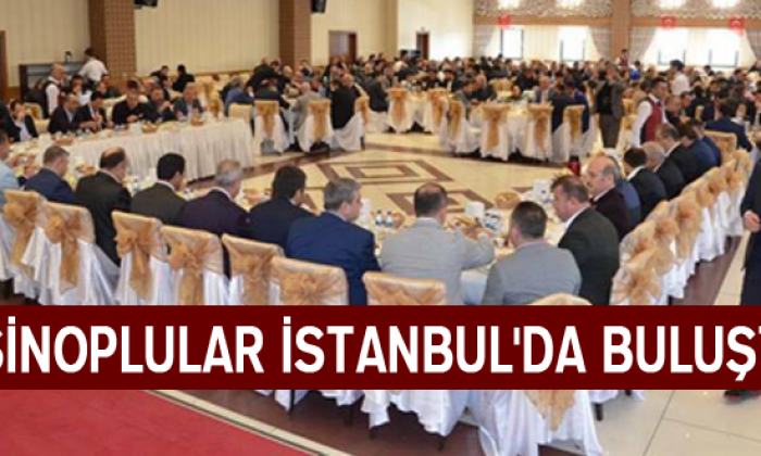 Sinoplular İstanbul'da Buluştu