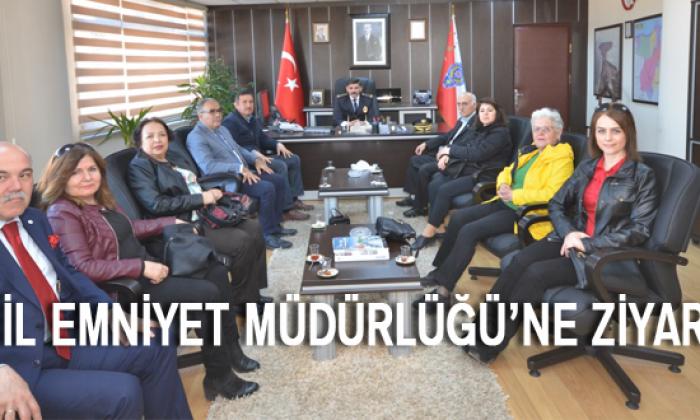 Kızılay'dan Dağdeviren'e ziyaret